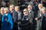 March Past, Remembrance Sunday at the Cenotaph 2016: E28 The Fisgard Association. Cenotaph, Whitehall, London SW1, London, Greater London, United Kingdom, on 13 November 2016 at 13:07, image #1919