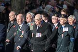 March Past, Remembrance Sunday at the Cenotaph 2016: E30 Fleet Air Arm Armourers Association. Cenotaph, Whitehall, London SW1, London, Greater London, United Kingdom, on 13 November 2016 at 13:07, image #1928