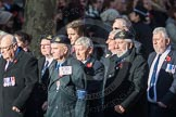 March Past, Remembrance Sunday at the Cenotaph 2016: E31 Fleet Air Arm Association. Cenotaph, Whitehall, London SW1, London, Greater London, United Kingdom, on 13 November 2016 at 13:07, image #1930