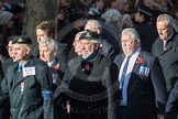 March Past, Remembrance Sunday at the Cenotaph 2016: E31 Fleet Air Arm Association. Cenotaph, Whitehall, London SW1, London, Greater London, United Kingdom, on 13 November 2016 at 13:07, image #1931