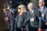 March Past, Remembrance Sunday at the Cenotaph 2016: E31 Fleet Air Arm Association. Cenotaph, Whitehall, London SW1, London, Greater London, United Kingdom, on 13 November 2016 at 13:07, image #1933