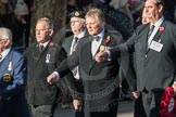 March Past, Remembrance Sunday at the Cenotaph 2016: E32 Fleet Air Arm Bucaneer Association. Cenotaph, Whitehall, London SW1, London, Greater London, United Kingdom, on 13 November 2016 at 13:07, image #1935