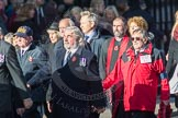 March Past, Remembrance Sunday at the Cenotaph 2016: E37 GLARAC ASSOCIATION. Cenotaph, Whitehall, London SW1, London, Greater London, United Kingdom, on 13 November 2016 at 13:08, image #1974