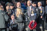 March Past, Remembrance Sunday at the Cenotaph 2016: E38 HMS HERMES ASSOCIATION. Cenotaph, Whitehall, London SW1, London, Greater London, United Kingdom, on 13 November 2016 at 13:08, image #1982