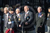 March Past, Remembrance Sunday at the Cenotaph 2016: E38 HMS HERMES ASSOCIATION. Cenotaph, Whitehall, London SW1, London, Greater London, United Kingdom, on 13 November 2016 at 13:08, image #1983