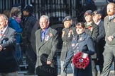 March Past, Remembrance Sunday at the Cenotaph 2016: E39 HMS Illustrious Association. Cenotaph, Whitehall, London SW1, London, Greater London, United Kingdom, on 13 November 2016 at 13:08, image #1985