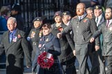 March Past, Remembrance Sunday at the Cenotaph 2016: E39 HMS Illustrious Association. Cenotaph, Whitehall, London SW1, London, Greater London, United Kingdom, on 13 November 2016 at 13:08, image #1986