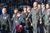 March Past, Remembrance Sunday at the Cenotaph 2016: E39 HMS Illustrious Association. Cenotaph, Whitehall, London SW1, London, Greater London, United Kingdom, on 13 November 2016 at 13:08, image #1987
