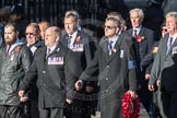 March Past, Remembrance Sunday at the Cenotaph 2016: E40 HMS Neptune Association. Cenotaph, Whitehall, London SW1, London, Greater London, United Kingdom, on 13 November 2016 at 13:08, image #1993