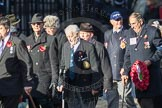 March Past, Remembrance Sunday at the Cenotaph 2016: E40 HMS Neptune Association. Cenotaph, Whitehall, London SW1, London, Greater London, United Kingdom, on 13 November 2016 at 13:08, image #2002