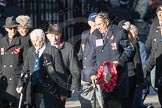 March Past, Remembrance Sunday at the Cenotaph 2016: E40 HMS Neptune Association. Cenotaph, Whitehall, London SW1, London, Greater London, United Kingdom, on 13 November 2016 at 13:08, image #2003
