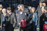 March Past, Remembrance Sunday at the Cenotaph 2016: E40 HMS Neptune Association. Cenotaph, Whitehall, London SW1, London, Greater London, United Kingdom, on 13 November 2016 at 13:08, image #2004