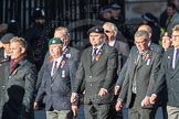 March Past, Remembrance Sunday at the Cenotaph 2016: E41 HMS Penelope Association. Cenotaph, Whitehall, London SW1, London, Greater London, United Kingdom, on 13 November 2016 at 13:08, image #2012