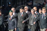 March Past, Remembrance Sunday at the Cenotaph 2016: E41 HMS Penelope Association. Cenotaph, Whitehall, London SW1, London, Greater London, United Kingdom, on 13 November 2016 at 13:08, image #2013