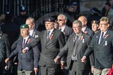 March Past, Remembrance Sunday at the Cenotaph 2016: E41 HMS Penelope Association. Cenotaph, Whitehall, London SW1, London, Greater London, United Kingdom, on 13 November 2016 at 13:08, image #2014