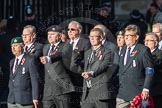 March Past, Remembrance Sunday at the Cenotaph 2016: E41 HMS Penelope Association. Cenotaph, Whitehall, London SW1, London, Greater London, United Kingdom, on 13 November 2016 at 13:08, image #2015