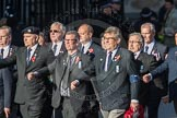 March Past, Remembrance Sunday at the Cenotaph 2016: E41 HMS Penelope Association. Cenotaph, Whitehall, London SW1, London, Greater London, United Kingdom, on 13 November 2016 at 13:08, image #2017