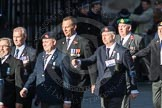March Past, Remembrance Sunday at the Cenotaph 2016: E41 HMS Penelope Association. Cenotaph, Whitehall, London SW1, London, Greater London, United Kingdom, on 13 November 2016 at 13:08, image #2021