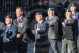 March Past, Remembrance Sunday at the Cenotaph 2016: E41 HMS Penelope Association. Cenotaph, Whitehall, London SW1, London, Greater London, United Kingdom, on 13 November 2016 at 13:08, image #2022