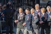 March Past, Remembrance Sunday at the Cenotaph 2016: E43 ROYAL NAVY PHYSICAL TRAINING BRANCH. Cenotaph, Whitehall, London SW1, London, Greater London, United Kingdom, on 13 November 2016 at 13:08, image #2036