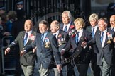 March Past, Remembrance Sunday at the Cenotaph 2016: E43 ROYAL NAVY PHYSICAL TRAINING BRANCH. Cenotaph, Whitehall, London SW1, London, Greater London, United Kingdom, on 13 November 2016 at 13:08, image #2038