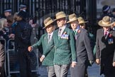 March Past, Remembrance Sunday at the Cenotaph 2016: F02 GURKHA BRIGADE ASSOCIATION TRUST. Cenotaph, Whitehall, London SW1, London, Greater London, United Kingdom, on 13 November 2016 at 13:08, image #2048