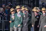 March Past, Remembrance Sunday at the Cenotaph 2016: F02 GURKHA BRIGADE ASSOCIATION TRUST. Cenotaph, Whitehall, London SW1, London, Greater London, United Kingdom, on 13 November 2016 at 13:08, image #2049