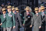 March Past, Remembrance Sunday at the Cenotaph 2016: F02 GURKHA BRIGADE ASSOCIATION TRUST. Cenotaph, Whitehall, London SW1, London, Greater London, United Kingdom, on 13 November 2016 at 13:08, image #2050