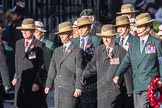 March Past, Remembrance Sunday at the Cenotaph 2016: F02 GURKHA BRIGADE ASSOCIATION TRUST. Cenotaph, Whitehall, London SW1, London, Greater London, United Kingdom, on 13 November 2016 at 13:08, image #2052