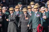 March Past, Remembrance Sunday at the Cenotaph 2016: F02 GURKHA BRIGADE ASSOCIATION TRUST. Cenotaph, Whitehall, London SW1, London, Greater London, United Kingdom, on 13 November 2016 at 13:08, image #2053
