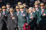 March Past, Remembrance Sunday at the Cenotaph 2016: F02 GURKHA BRIGADE ASSOCIATION TRUST. Cenotaph, Whitehall, London SW1, London, Greater London, United Kingdom, on 13 November 2016 at 13:08, image #2055