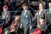 March Past, Remembrance Sunday at the Cenotaph 2016: F07 Monte Cassino Society. Cenotaph, Whitehall, London SW1, London, Greater London, United Kingdom, on 13 November 2016 at 13:10, image #2160