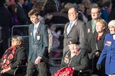 March Past, Remembrance Sunday at the Cenotaph 2016: F07 Monte Cassino Society. Cenotaph, Whitehall, London SW1, London, Greater London, United Kingdom, on 13 November 2016 at 13:10, image #2161