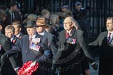 March Past, Remembrance Sunday at the Cenotaph 2016: F09 Officers Association. Cenotaph, Whitehall, London SW1, London, Greater London, United Kingdom, on 13 November 2016 at 13:10, image #2174