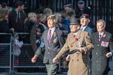 March Past, Remembrance Sunday at the Cenotaph 2016: F10 Black and White Association. Cenotaph, Whitehall, London SW1, London, Greater London, United Kingdom, on 13 November 2016 at 13:10, image #2177