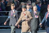 March Past, Remembrance Sunday at the Cenotaph 2016: F10 Black and White Association. Cenotaph, Whitehall, London SW1, London, Greater London, United Kingdom, on 13 November 2016 at 13:10, image #2179