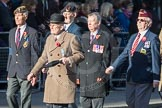 March Past, Remembrance Sunday at the Cenotaph 2016: F10 Black and White Association. Cenotaph, Whitehall, London SW1, London, Greater London, United Kingdom, on 13 November 2016 at 13:10, image #2180