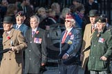 March Past, Remembrance Sunday at the Cenotaph 2016: F10 Black and White Association. Cenotaph, Whitehall, London SW1, London, Greater London, United Kingdom, on 13 November 2016 at 13:10, image #2182