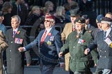 March Past, Remembrance Sunday at the Cenotaph 2016: F11 National Service Veterans Alliance. Cenotaph, Whitehall, London SW1, London, Greater London, United Kingdom, on 13 November 2016 at 13:10, image #2184