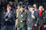 March Past, Remembrance Sunday at the Cenotaph 2016: F11 National Service Veterans Alliance. Cenotaph, Whitehall, London SW1, London, Greater London, United Kingdom, on 13 November 2016 at 13:10, image #2185