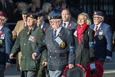March Past, Remembrance Sunday at the Cenotaph 2016: F11 National Service Veterans Alliance. Cenotaph, Whitehall, London SW1, London, Greater London, United Kingdom, on 13 November 2016 at 13:10, image #2186