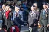 March Past, Remembrance Sunday at the Cenotaph 2016: F12 Gallantry Medallists League. Cenotaph, Whitehall, London SW1, London, Greater London, United Kingdom, on 13 November 2016 at 13:10, image #2189
