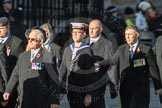 March Past, Remembrance Sunday at the Cenotaph 2016: F12 Gallantry Medallists League. Cenotaph, Whitehall, London SW1, London, Greater London, United Kingdom, on 13 November 2016 at 13:10, image #2206