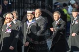 March Past, Remembrance Sunday at the Cenotaph 2016: F12 Gallantry Medallists League. Cenotaph, Whitehall, London SW1, London, Greater London, United Kingdom, on 13 November 2016 at 13:10, image #2207