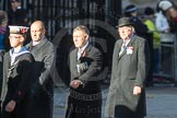 March Past, Remembrance Sunday at the Cenotaph 2016: F12 Gallantry Medallists League. Cenotaph, Whitehall, London SW1, London, Greater London, United Kingdom, on 13 November 2016 at 13:10, image #2209