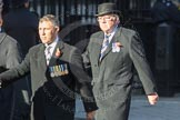 March Past, Remembrance Sunday at the Cenotaph 2016: F12 Gallantry Medallists League. Cenotaph, Whitehall, London SW1, London, Greater London, United Kingdom, on 13 November 2016 at 13:10, image #2210