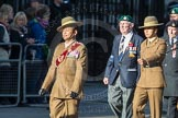 March Past, Remembrance Sunday at the Cenotaph 2016: F13 National Malayan & Borneo Veterans Association. Cenotaph, Whitehall, London SW1, London, Greater London, United Kingdom, on 13 November 2016 at 13:10, image #2213