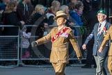 March Past, Remembrance Sunday at the Cenotaph 2016: F13 National Malayan & Borneo Veterans Association. Cenotaph, Whitehall, London SW1, London, Greater London, United Kingdom, on 13 November 2016 at 13:10, image #2214