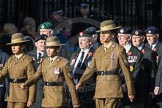 March Past, Remembrance Sunday at the Cenotaph 2016: F13 National Malayan & Borneo Veterans Association. Cenotaph, Whitehall, London SW1, London, Greater London, United Kingdom, on 13 November 2016 at 13:10, image #2218