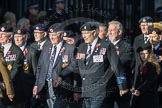 March Past, Remembrance Sunday at the Cenotaph 2016: F13 National Malayan & Borneo Veterans Association. Cenotaph, Whitehall, London SW1, London, Greater London, United Kingdom, on 13 November 2016 at 13:10, image #2222